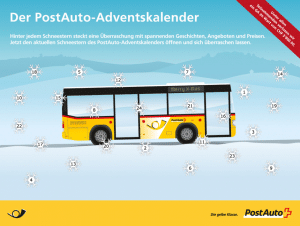 postauto-adventskalender
