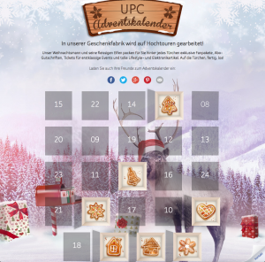 Adventskalender UPC